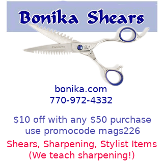 Shears for salon stylists